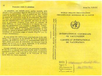 Vaccination for Tanzania trip